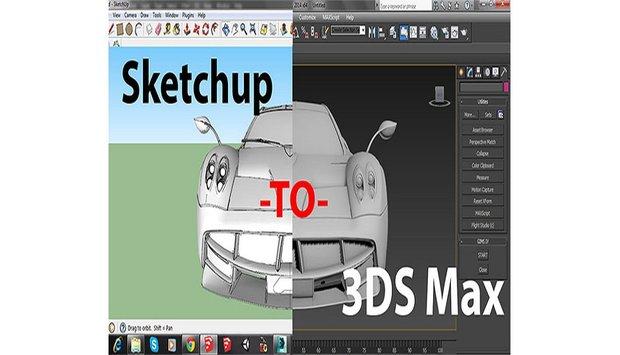Đánh giá Sketchup và 3Ds Max - Nên lựa chọn giải pháp nào?