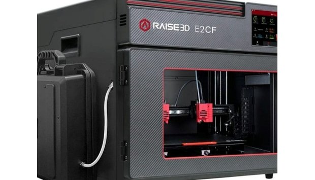 Khám phá dòng máy in 3D Raise3D E2CF để bàn chuyên nghiệp ứng dụng sản xuất các bộ phận sợi carbon